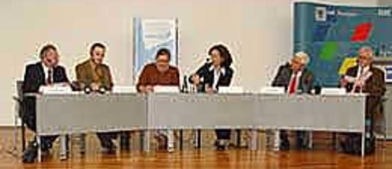 Harald Lemke, Einzelhandelsverband Brandenburg; Holger Flöting, Difu; Sabine Fischer, Collective Intelligence GmbH; Dr. Anja Bundschuh, eBay Deutschland GmbH;