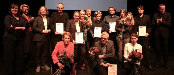 Gewinner des Berliner Verlagspreises 2019 © Cordula Giese