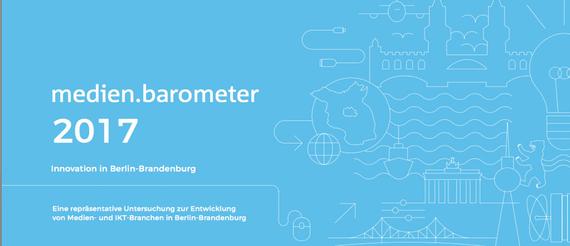 © Medienboard Berlin-Brandenburg / media:net berlinbrandenburg: medien.barometer 2017