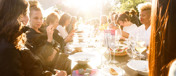 Female Changemakers Dinner 2019 © Tech Open Air 2019 / Stefan Wieland