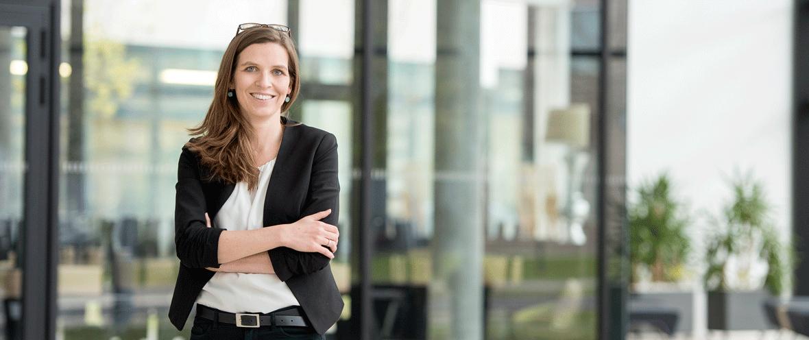 Dr. Julia Neuhaus, Leiterin Berliner Zukunftsorte © Konzept und Bild Cathrin Bach