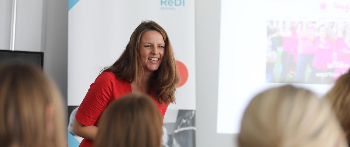 Leonie Moos, Head of Program Grace Accelerate Female Entrepreneurship © Grace