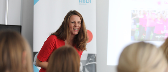 Leonie Moos, Head of Program Grace Accelerate Female Entrepreneurship © Grace