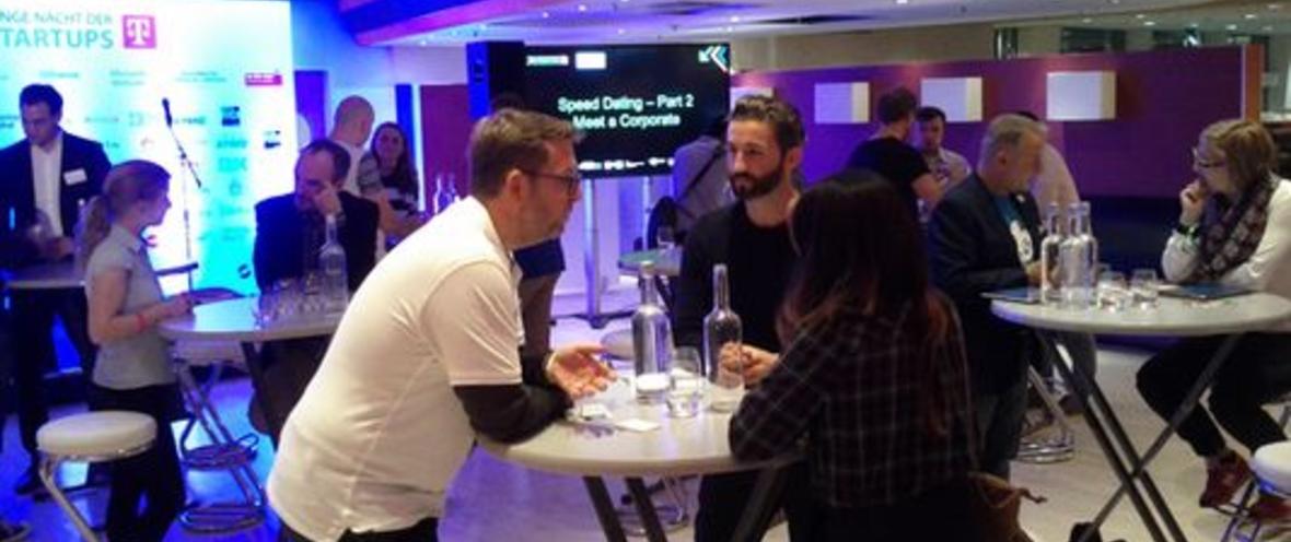 Speed Datings Lange Nacht der Startups © Projekt Zukunft