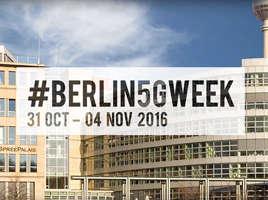 © The #Berlin5GWeek