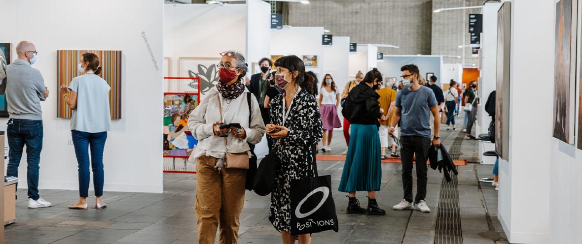 Positions Berlin Art Fair, 2020. © Clara Wenzel-Theiler
