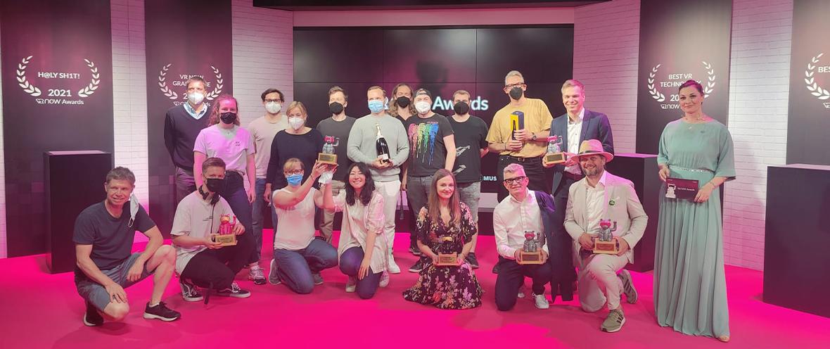Abschlussfoto der Award Show © VR NOW Awards