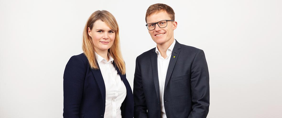 Geschäftsführer Hannah Nöthig und Karsten Nölling ©Kiwi