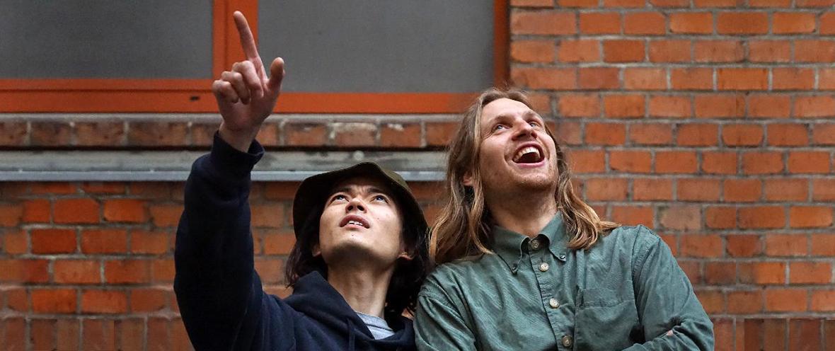 Tatsuya Takahashi und Maximilian Rest © KORG Berlin