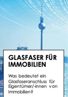 Infoflyer Glasfaser für Immobilien © Land Berlin
