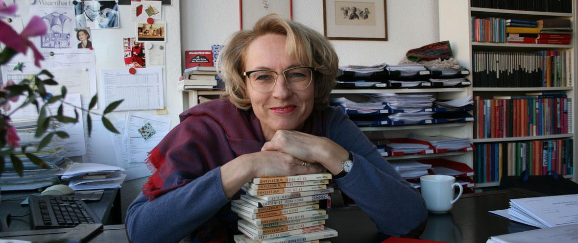 Susanne Schüssler, Verlag Klaus Wagenbach © Denise Sterr