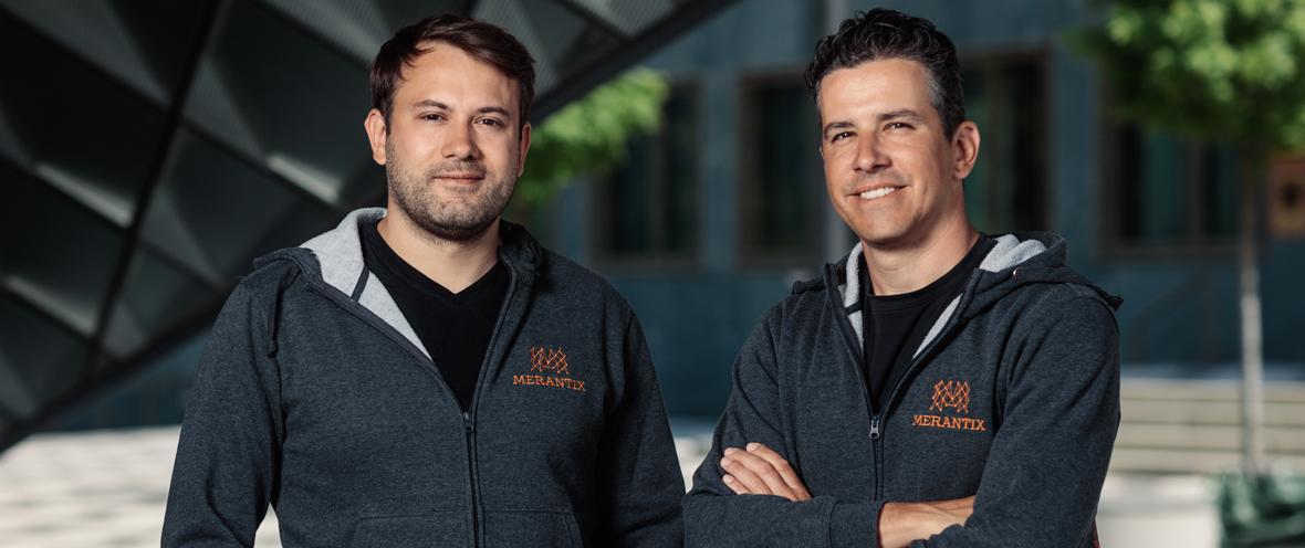 Merantix-Gründer Dr. Rasmus Rothe und Adrian Locher © Merantix