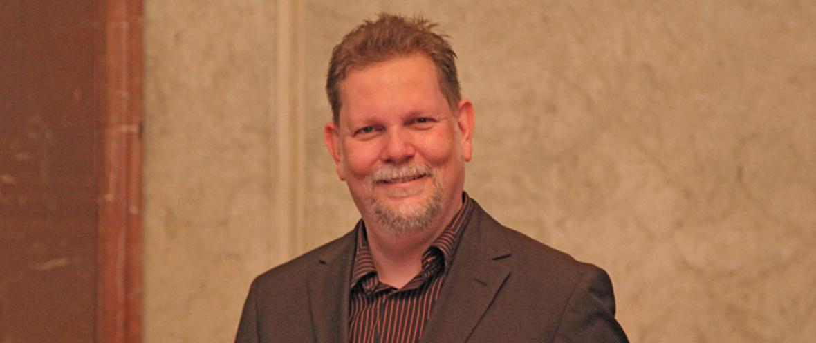 Gaming Aid e.V. Gründer Ingo Horn bei der Verleihung der Bundesverdienstmedaille