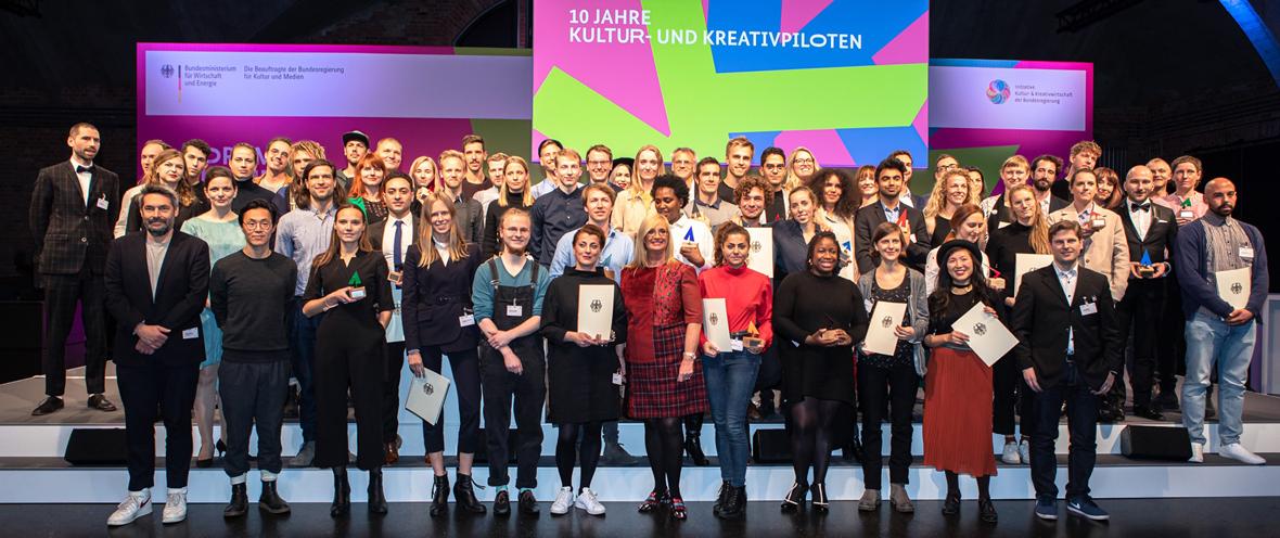 Kultur- und Kreativpiloten Deutschland 2019 © U-Institut / William Veder