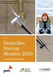 Deutscher Startup Monitor 2020 © pwc