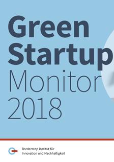 Green Startup Monitor 2018