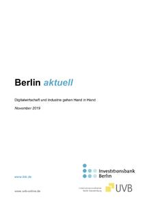 IBB: Berlin aktuell November 2019 © IBB