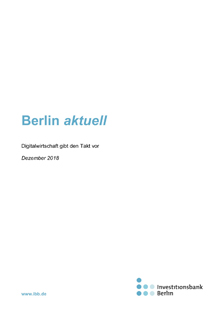IBB: Digitale Wirtschaft 2018 © IBB