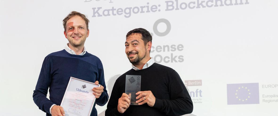 Deep Tech Award Gewinner 2020 © André Wunstorf